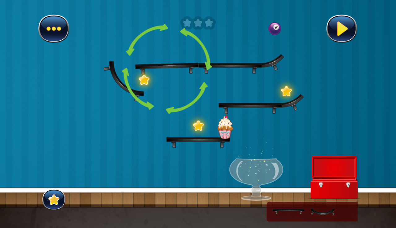 Trickie Cookie - Sweet Physics- screenshot