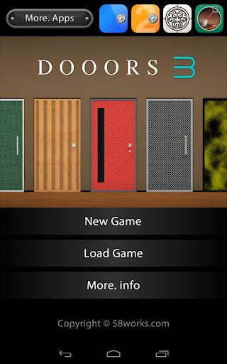 脱出ゲーム DOOORS3