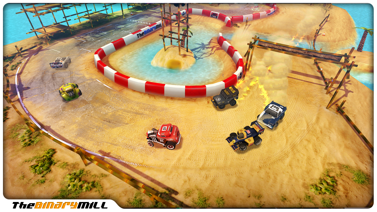 Mini Motor Racing - screenshot