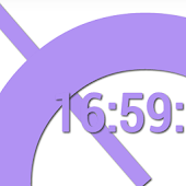 SuperFlat Clock LiveWallPaper