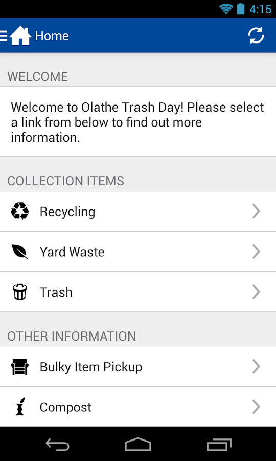 Olathe Trash Day - screenshot