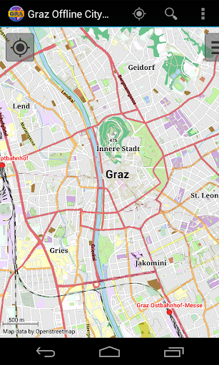 Graz Offline City Map