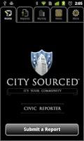 Screenshot of CitySourced