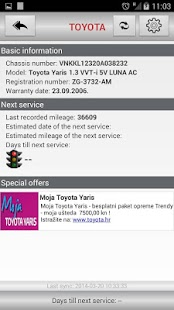 Moja Toyota- screenshot thumbnail