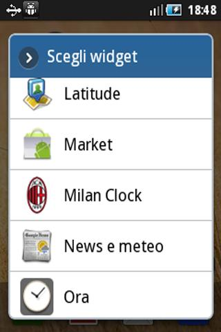 AC Milan Clock - screenshot