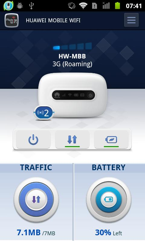 HUAWEI Mobile WiFi 2 - screenshot