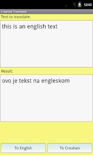 克羅地亞語翻譯詞典