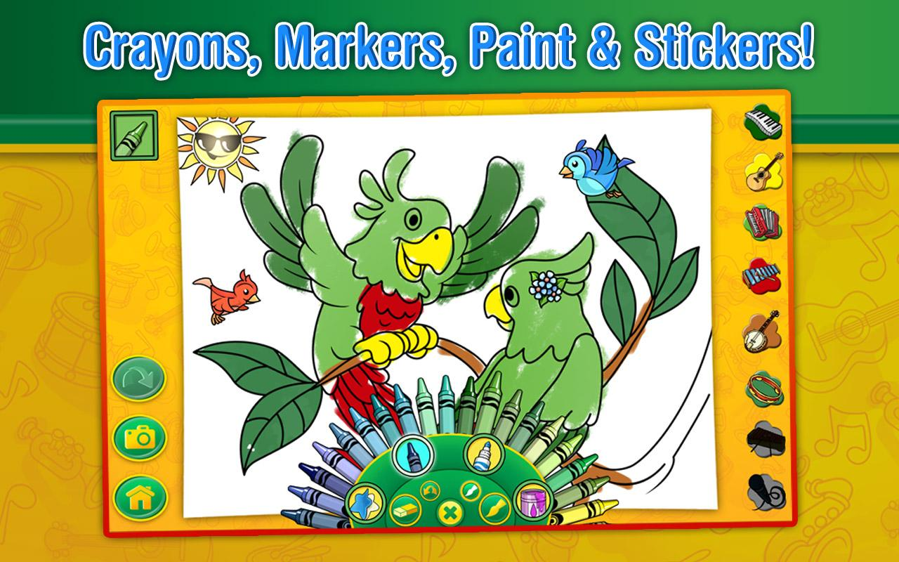Crayola Color, Draw & Sing - screenshot