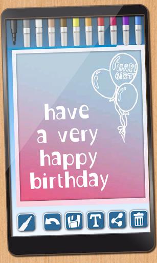 設計誕生日カード