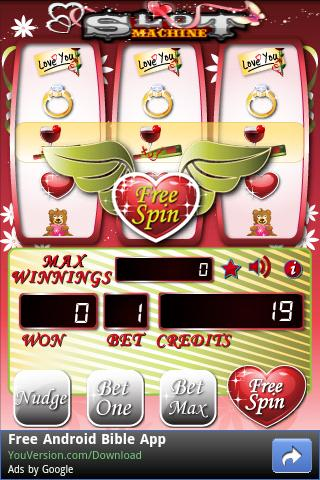Valentine's Slots - screenshot