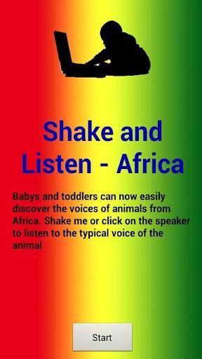 Shake and Listen - Africa