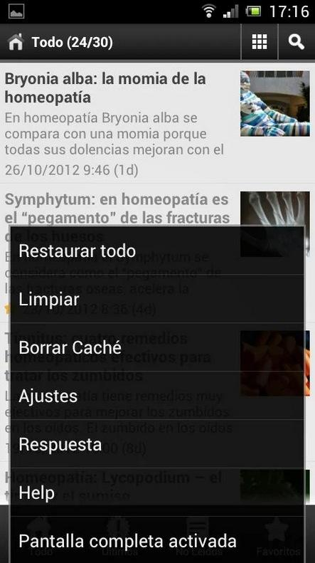 Honatur | Homeopatía GRATIS - screenshot