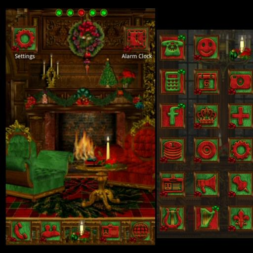 GO-ランチャー:クリスマス 個人化 LOGO-玩APPs