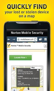 Norton Security antivirus - screenshot thumbnail