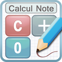 Calculator Note (Quick Memo) icon