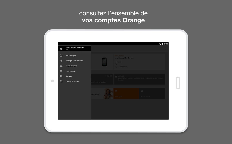 orange et moi l 39 espace client applications android sur google play. Black Bedroom Furniture Sets. Home Design Ideas