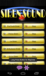 Best Siren Ringtones - screenshot thumbnail
