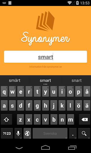 Synonymer - Sök synonym snabbt