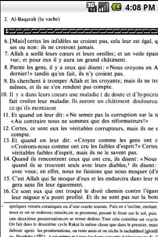 Quran - French - screenshot