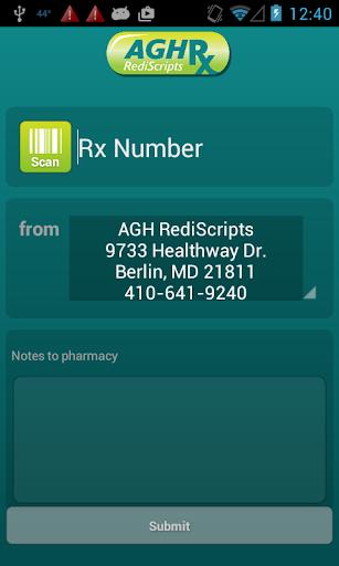 AGHRx RediScripts