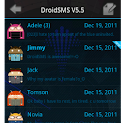 DroidSMS Theme ICS logo