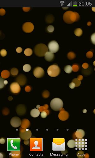 Light Drops Pro Live Wallpaper