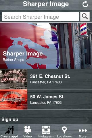 Sharper Image Barber Shop