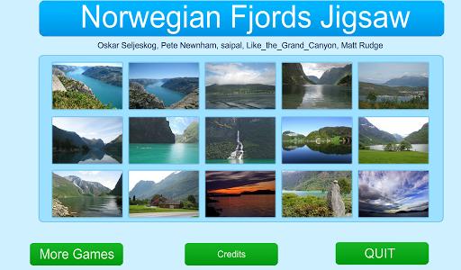 Norwegian Fjords Jigsaw