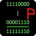 Bitwise binary calculator icon