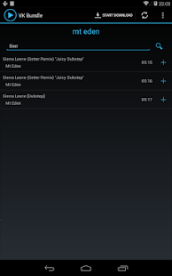 Vkontakte Playlist downloader - screenshot thumbnail