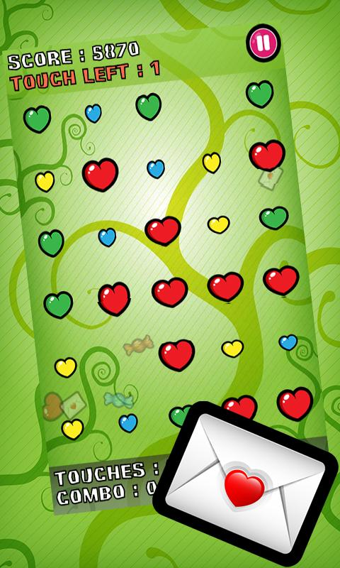 Bubble Blast Valentine- screenshot