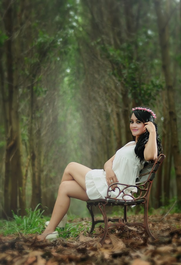 Bauty Of Ajeng by Preman'agung Photo'work - People Portraits of Women