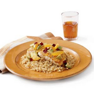 Orange Halibut with Quinoa