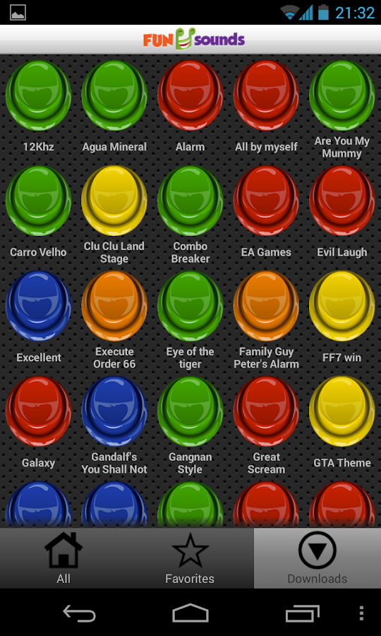 Fun Sounds Instant Buttons - screenshot