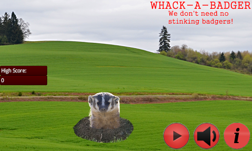 Whack a Badger