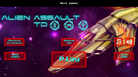 Alien Assault Tower Defense TD- screenshot thumbnail