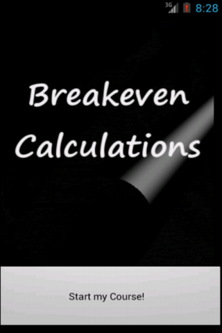 Breakeven Calculation