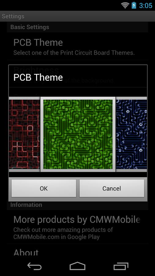 PCB Live Wallpaper - screenshot