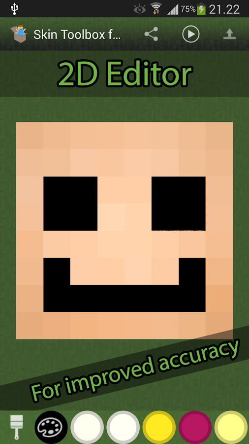 Skin Toolkit for Minecraft - screenshot