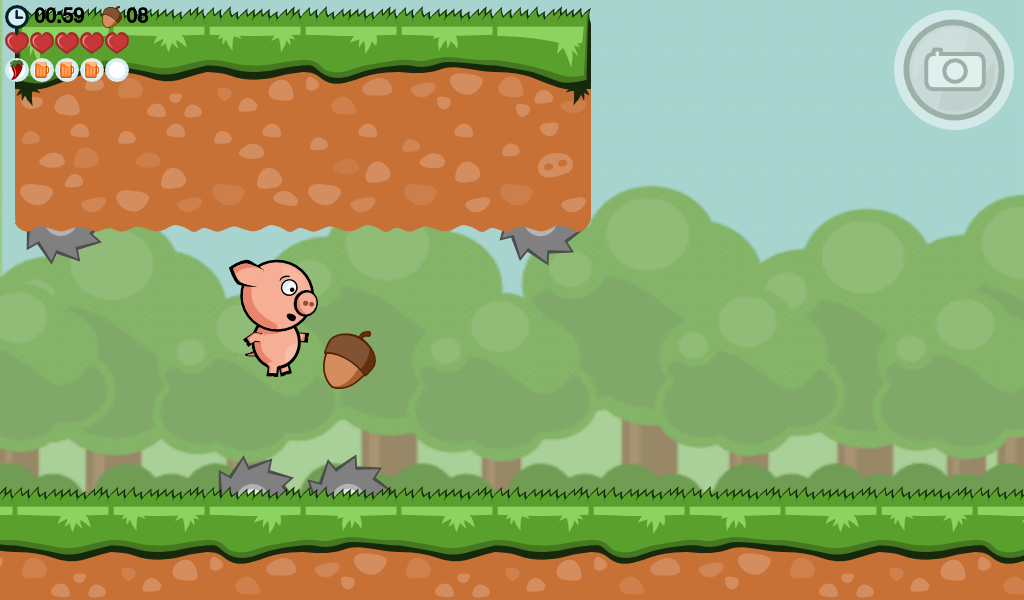 Crisp Bacon: Run Pig Run - screenshot