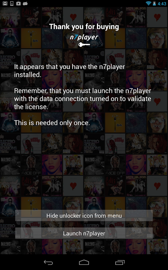 n7player Full Version Unlocker - screenshot