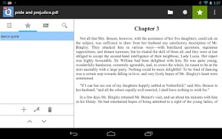 Screenshot of qPDF Viewer Free PDF Reader