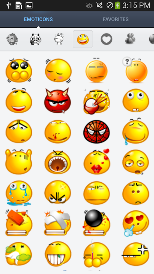 Cute Emoticons Sticker- screenshot