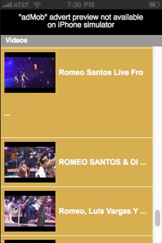 Romeo Santos - screenshot