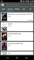 Screenshot of Unlimited Movie Quiz
