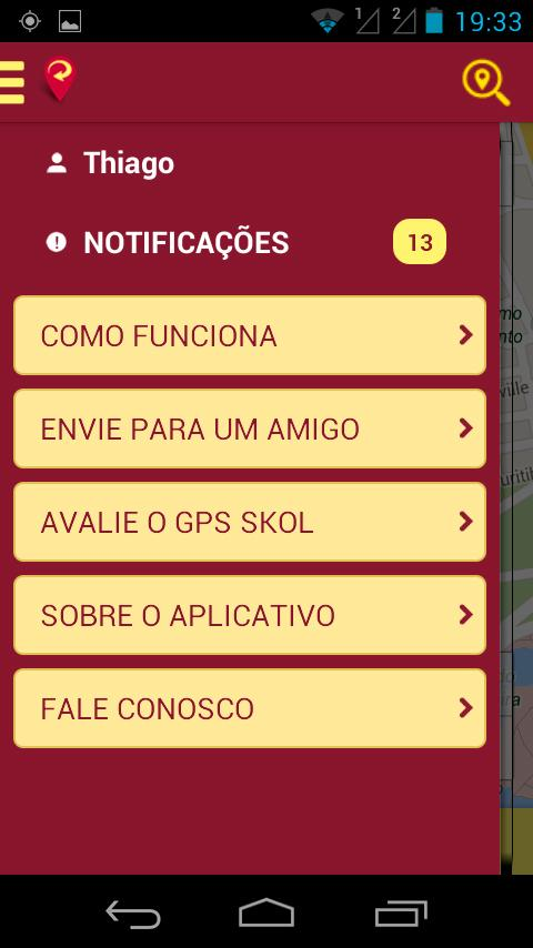 GPS Skol - screenshot