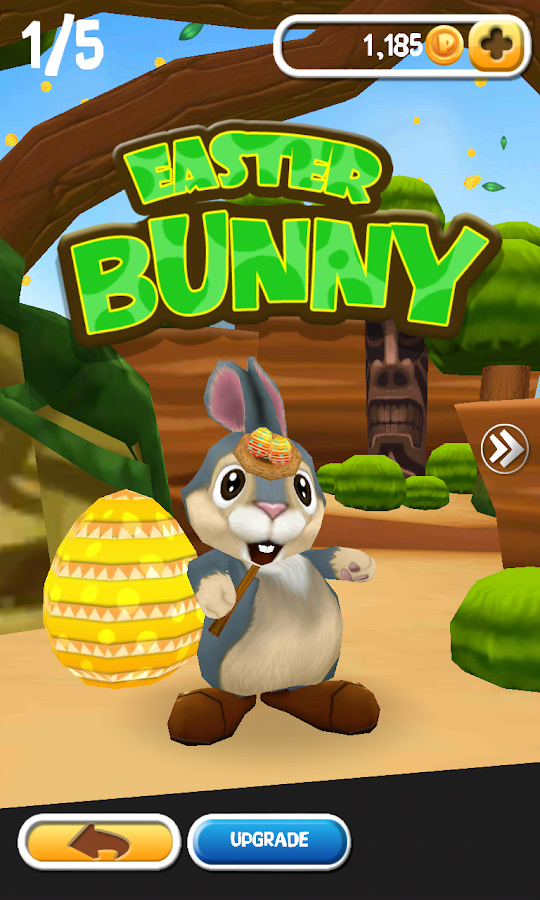Rabbit Frenzy Easter Egg Storm- screenshot