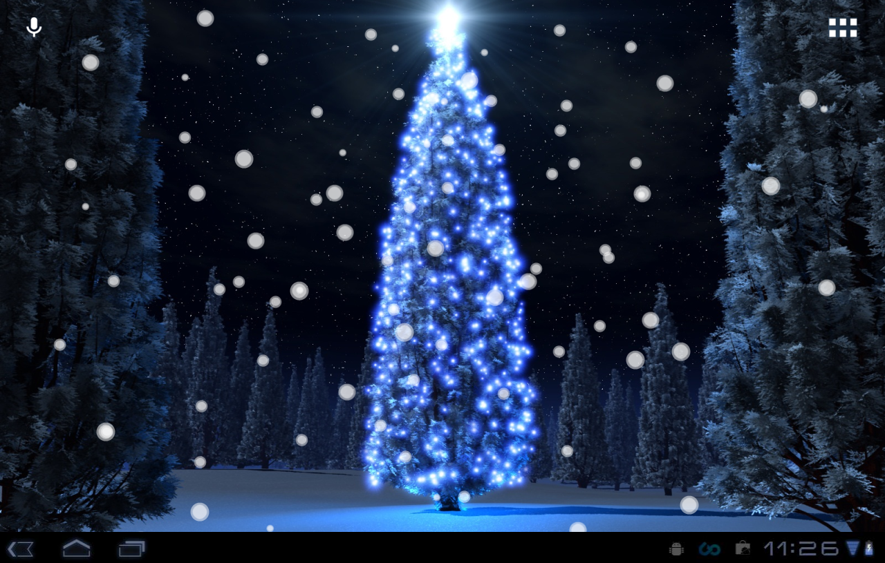 Christmas Tree Live Wallpaper photos