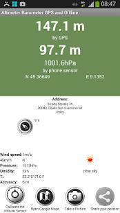 Altimeter Barometer Free