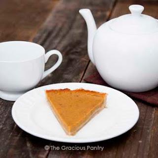 Clean Eating Pumpkin Pie.